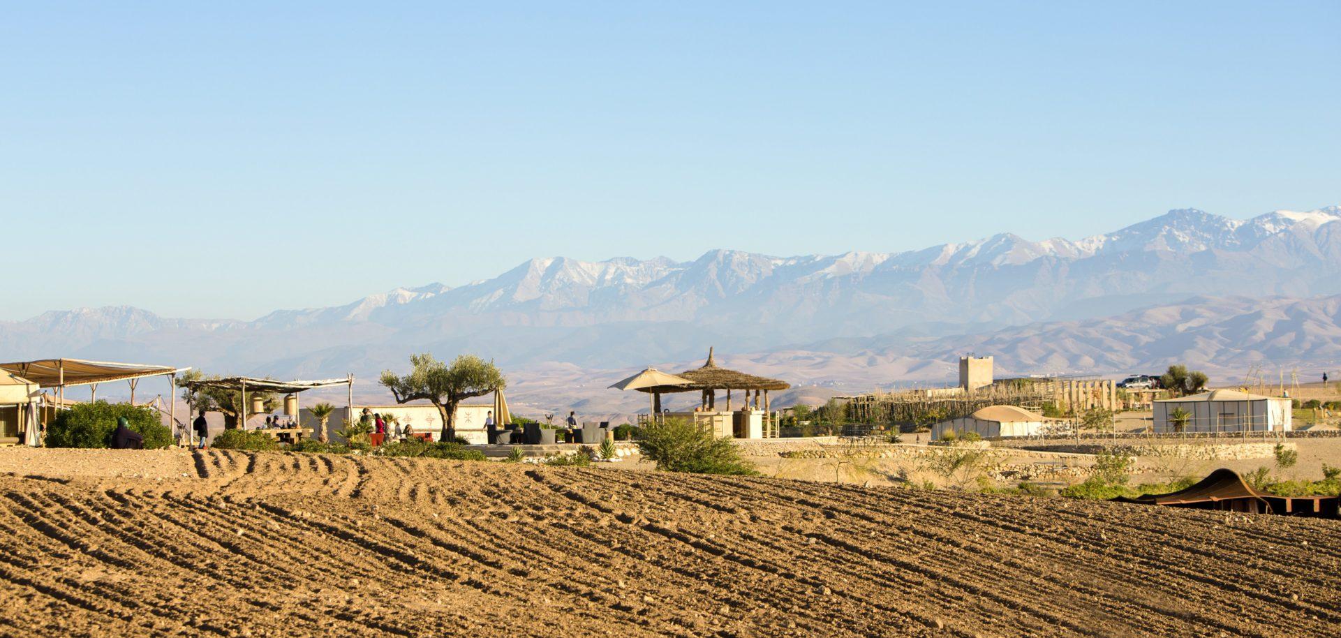 Terre des Etoiles désert d'Agafay Maroc