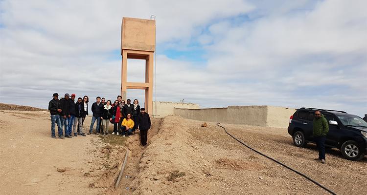 Chateau eau tourisme solidaire maroc